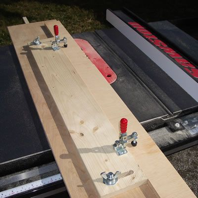 Ripping Plywood On Small Table Saw