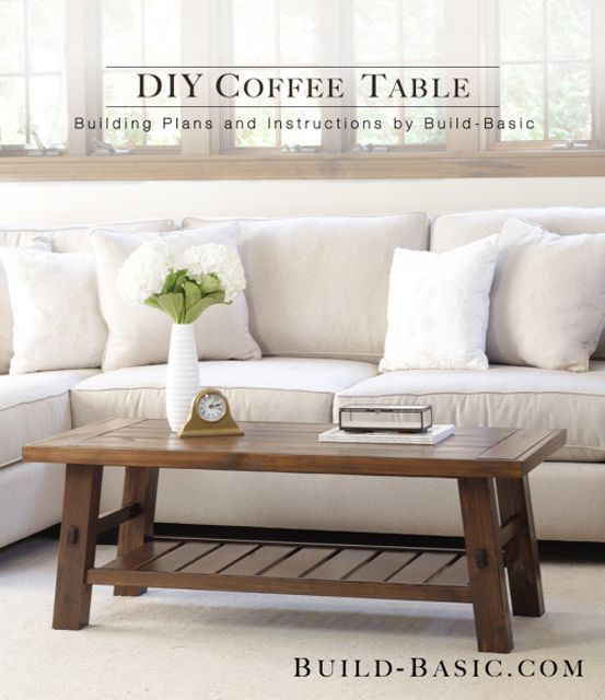 diy living room furniture plans picture 21 free coffee table you can build today