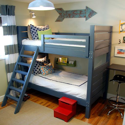 8 free diy bunk bed plans you can build