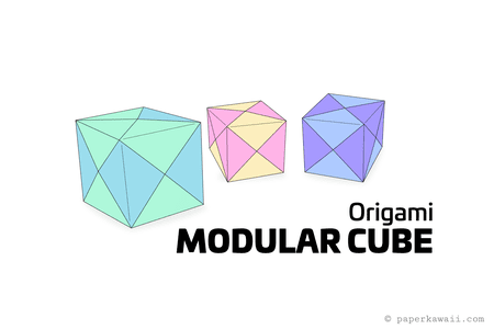 cool modular origami diagram switch wiring how to make a cube box