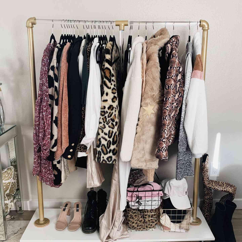 diy clothes rack ideas