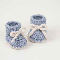 Crochet Baby Booties Diagram 1966 Ford Mustang Alternator Wiring 15 Adorable Bootie Patterns Snowflake