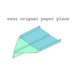 Cool Paper Plane Diagram Yamaha Raptor 50 Carburetor Super Easy Origami