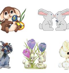 easter bunny clip art [ 2000 x 1500 Pixel ]