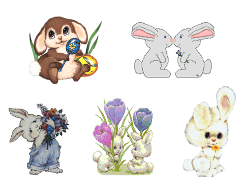 small resolution of easter bunny clip art