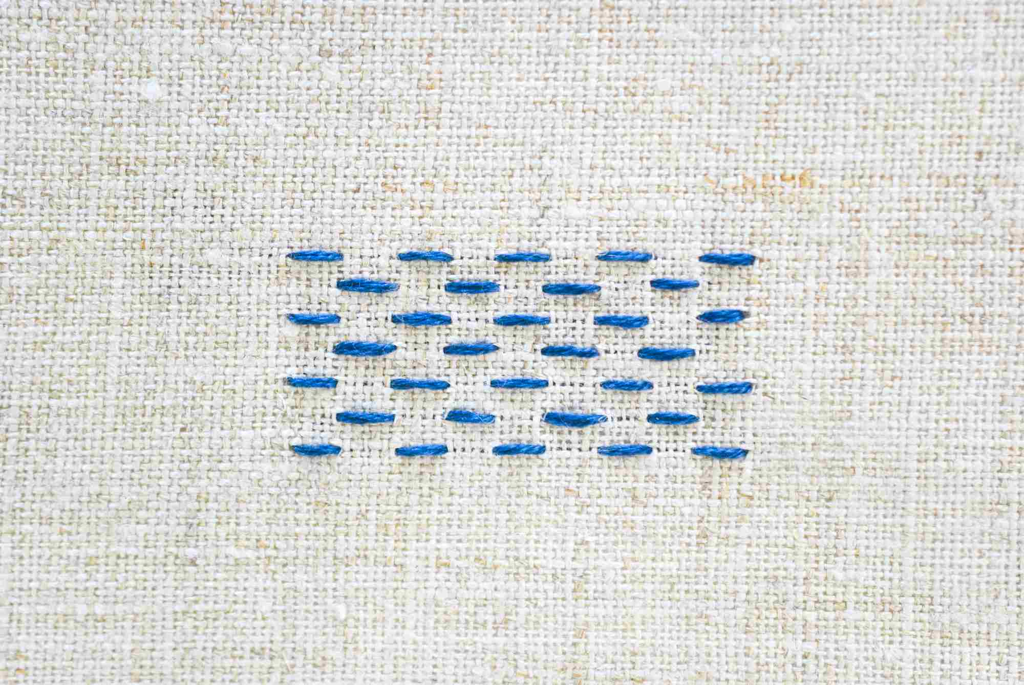 How To Work A Running Stitch For Embroidery And Sewing