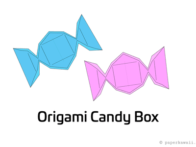 origami flower instruction diagram 2007 club car precedent battery wiring make an easy lily candy box instructions