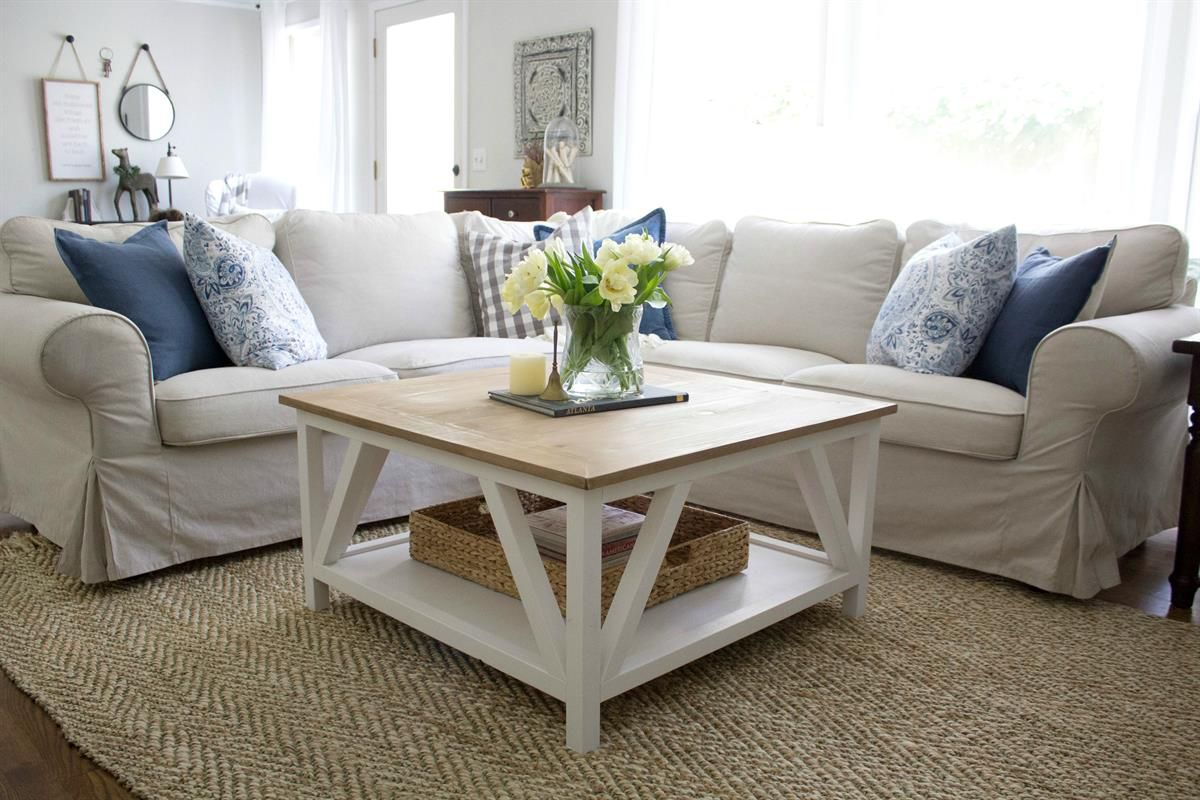 small table for living room warm paint colours 21 free diy coffee plans you can build today a modern in