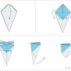 Diagram Origami Bracelet Golf Cart Insurance How To Make A Pretty Blossom Flower 04