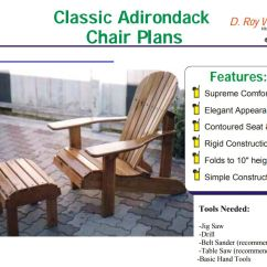Adirondack Chair Blueprints Fold Up Bed Foam 19 Free Plans You Can Diy Today A Plan For