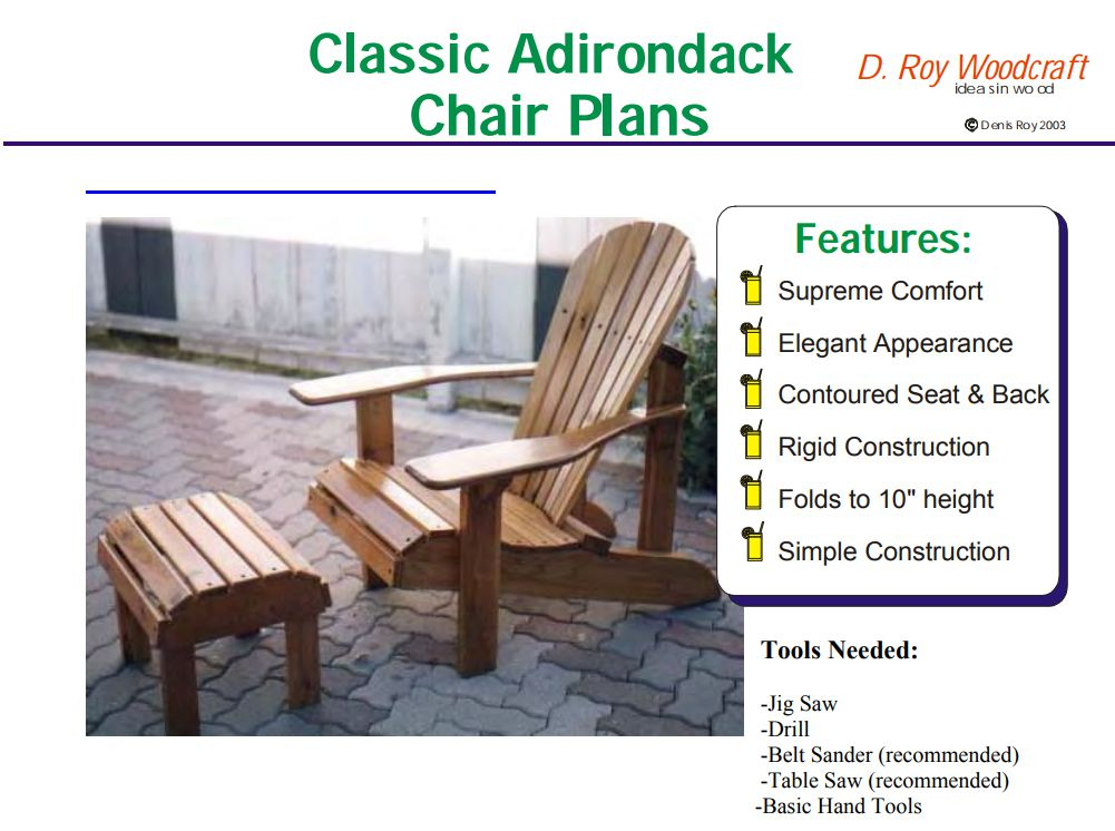 double rocking adirondack chair plans kenny chesney blue bay hats 19 free you can diy today a plan for