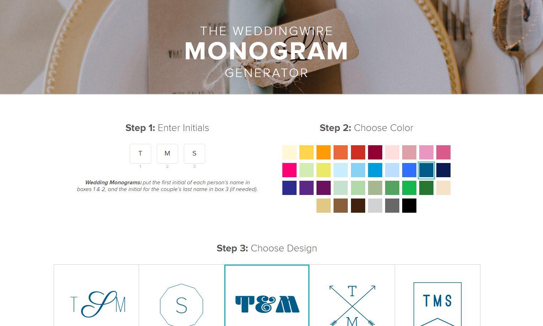 6 free monogram makers