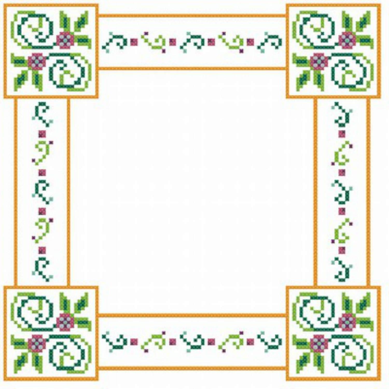 7 cross stitch border