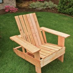 Diy Adirondack Chair Trex Gym Weight Loss 19 Free Plans You Can Today An In The Grass