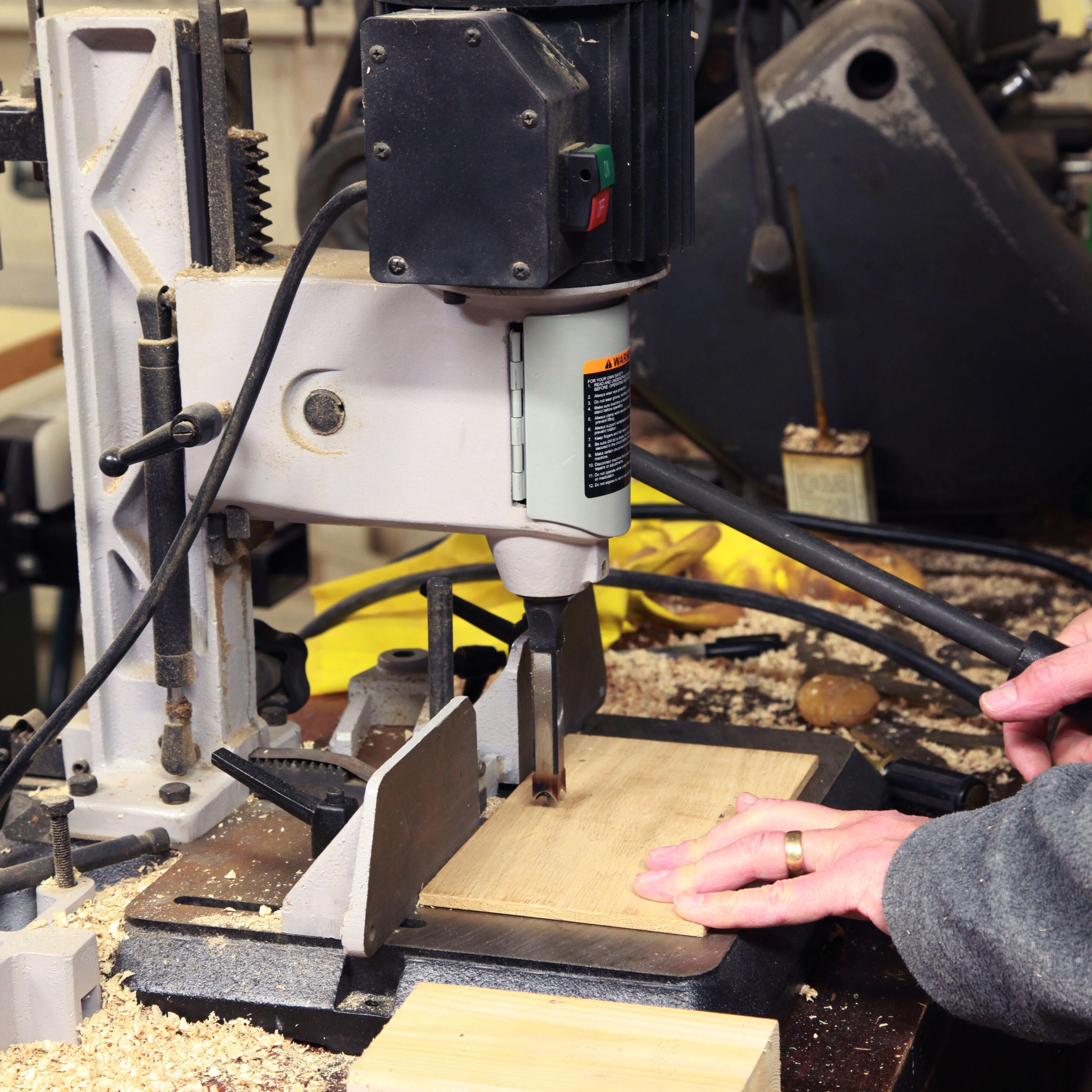 Mortise Attachment For Drill Press