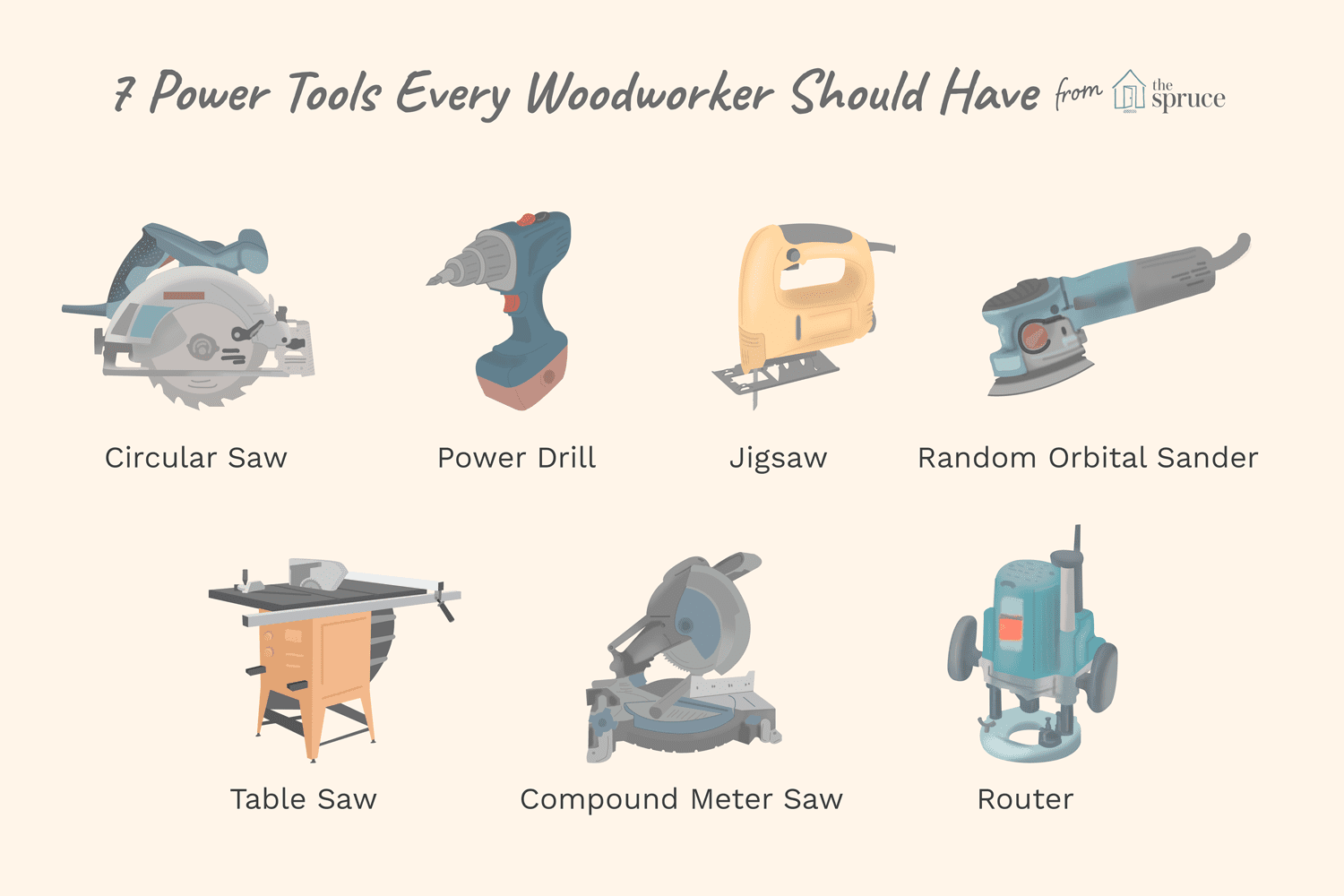 7 Power Tools Every Woodworker Should Have