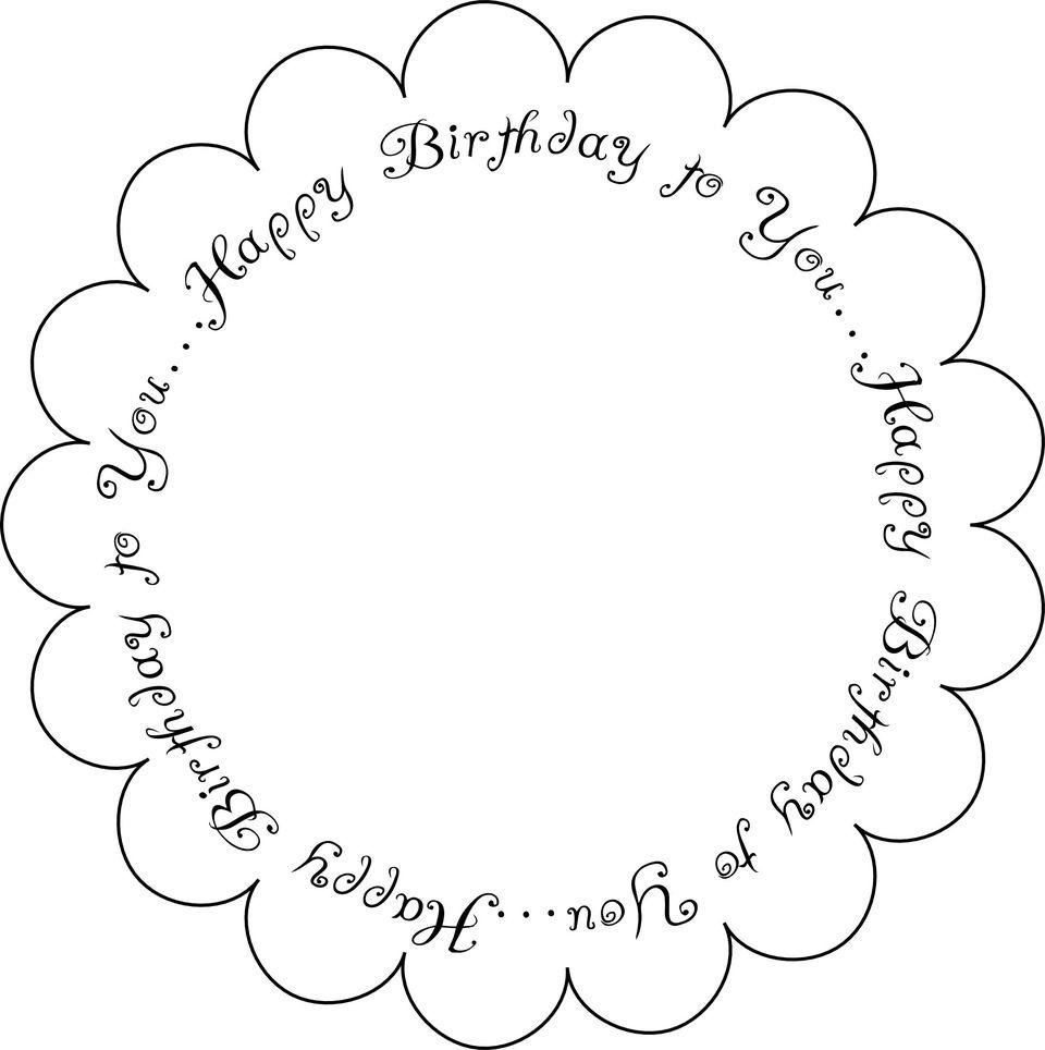 Printable Digital Birthday Sentiments