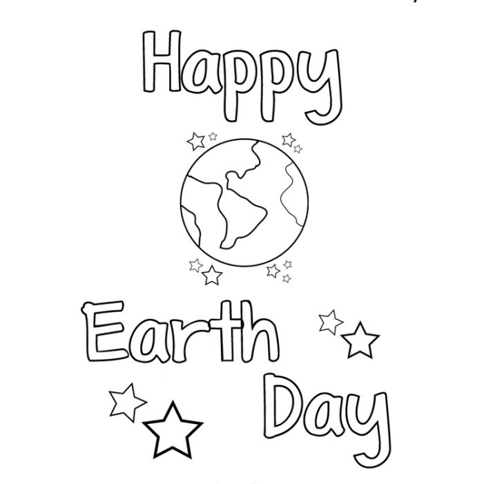 Free, Printable Earth Day Coloring Pages for the Kids