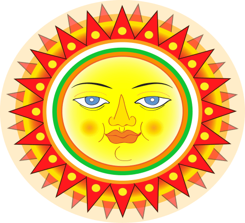 small resolution of openclipart s free sun clip art