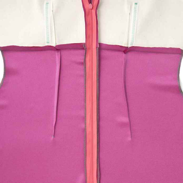 Image result for simple clothing construction process (seams)