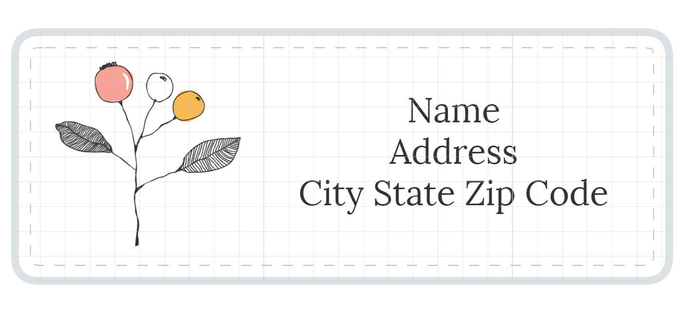 1,789 Address Label Templates