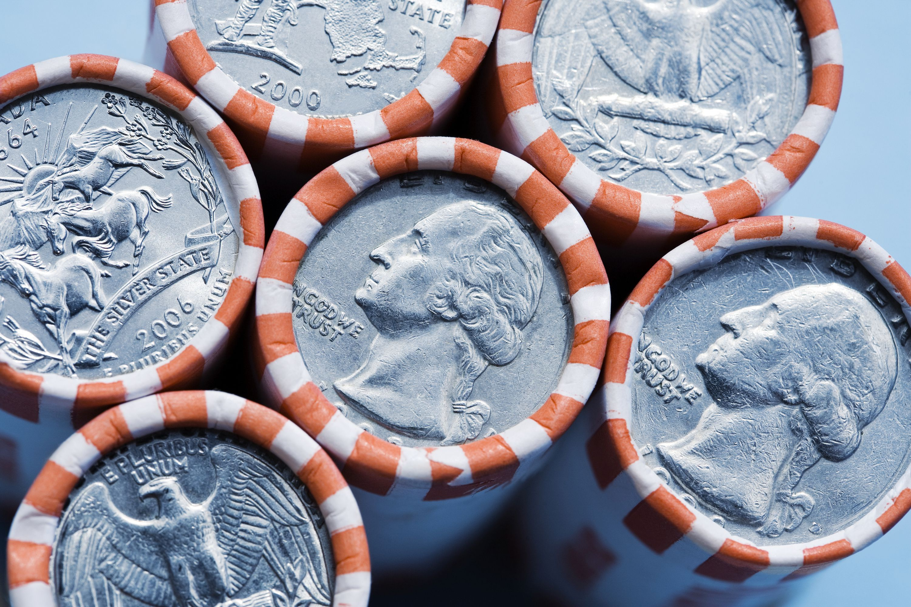 50 State Quarters Coin Roll Values