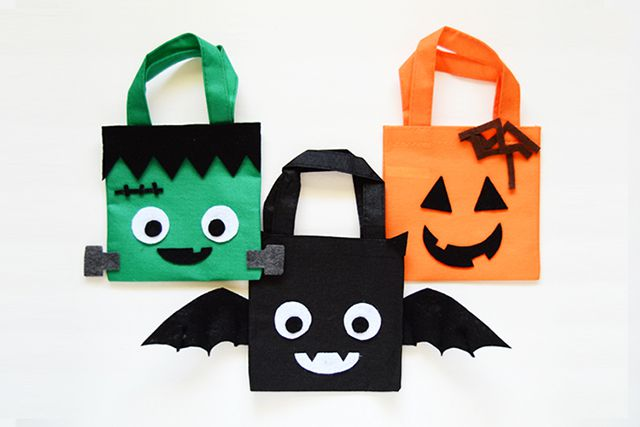 33 Diy Halloween Treat Bags