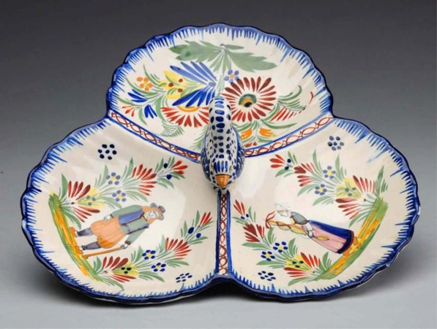 Quimper Faience Pottery History Marks and Wares
