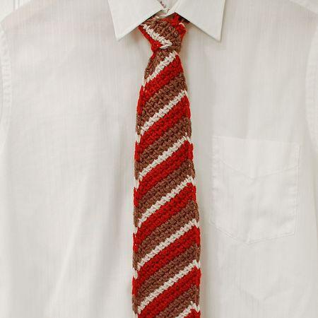 cool crochet necktie patterns