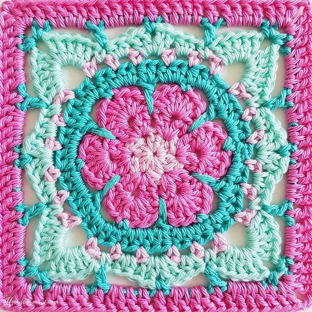 crochet granny square diagram 5 1 home theater setup 15 creative patterns flower pattern