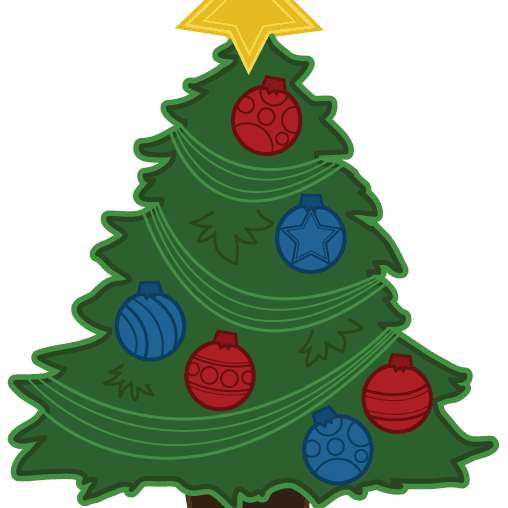 The Best Free Christmas Tree Clip Art Images