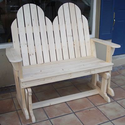 double rocking adirondack chair plans covers for ikea harry an loveseat glider rocker