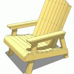 Adirondack Chair Plan Lounge Canopy 19 Free Plans You Can Diy Today A Yellow Diagram Of An