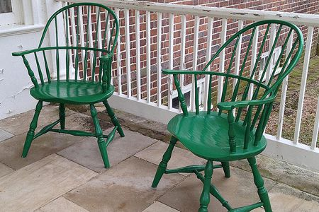 antique windsor chair identification grey table and chairs garden a brief history description of the gunston hall painted