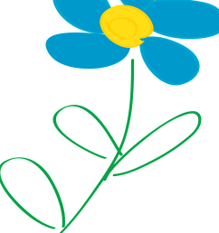 free flower clip art from openclipart [ 1802 x 1802 Pixel ]