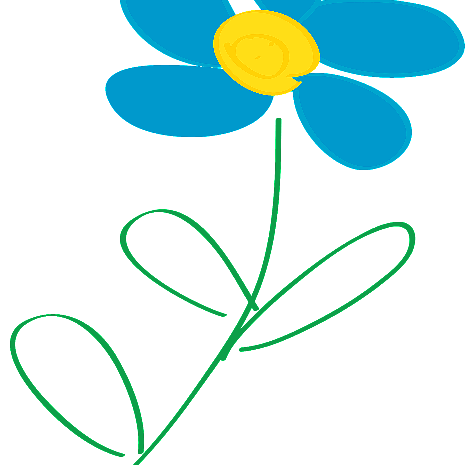 hight resolution of free flower clip art from openclipart