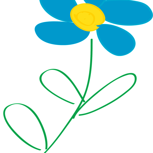 small resolution of free flower clip art from openclipart