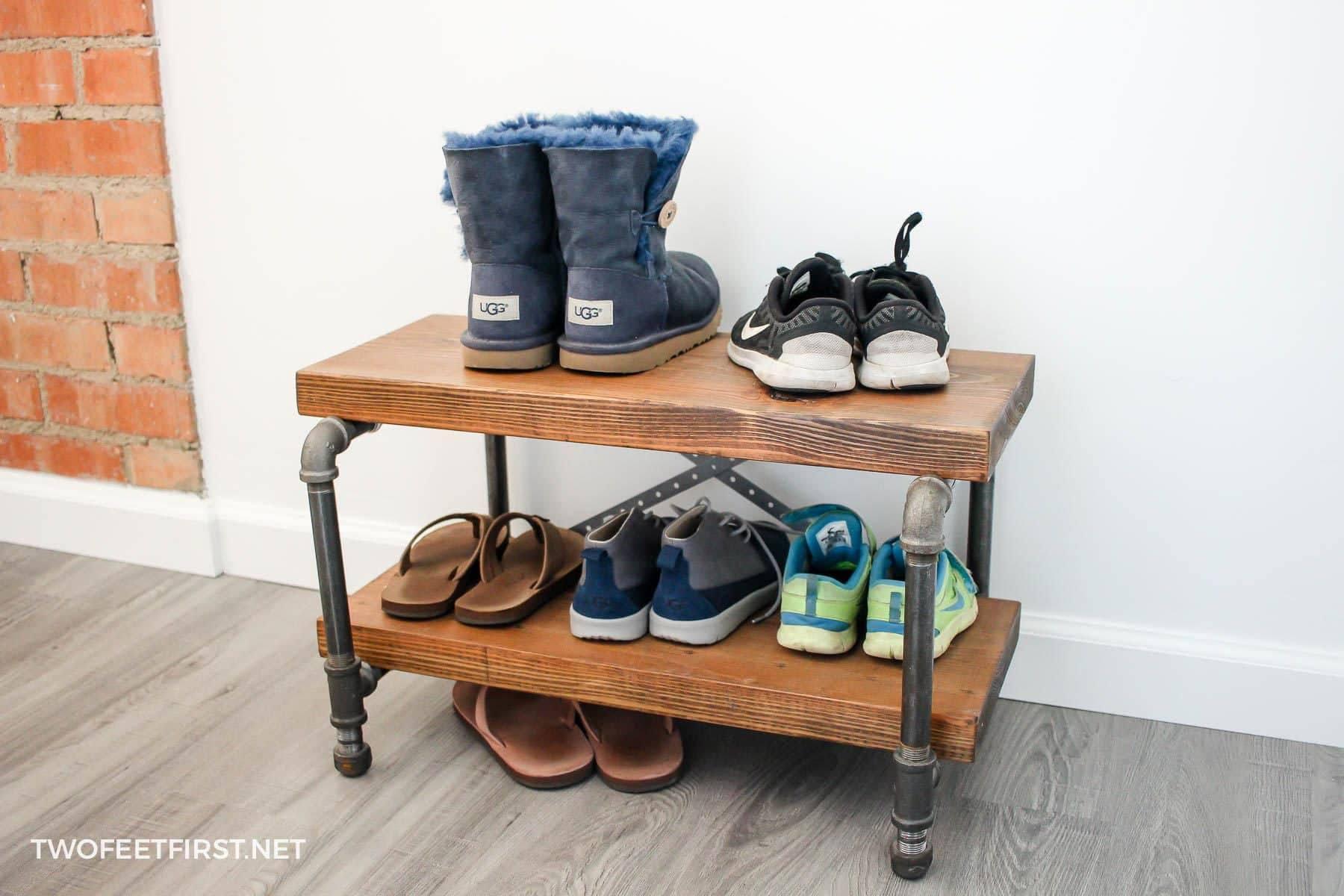 11 free diy shoe rack plans