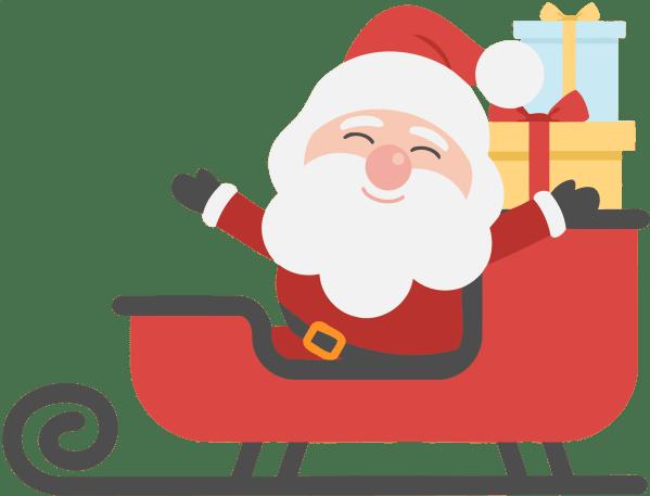 Free Santa Clipart Holiday Projects