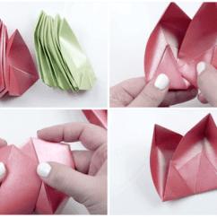 Cool Modular Origami Diagram 4 Way Circuit Wiring Lotus Flower 8