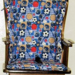 Sewing Patterns For Chair Cushions Bertoia Style White Sew Your Own Highchair Seat Cushion Create A Custom Pattern And