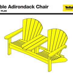 Double Rocking Adirondack Chair Plans Roman Workout 19 Free You Can Diy Today A Plan For