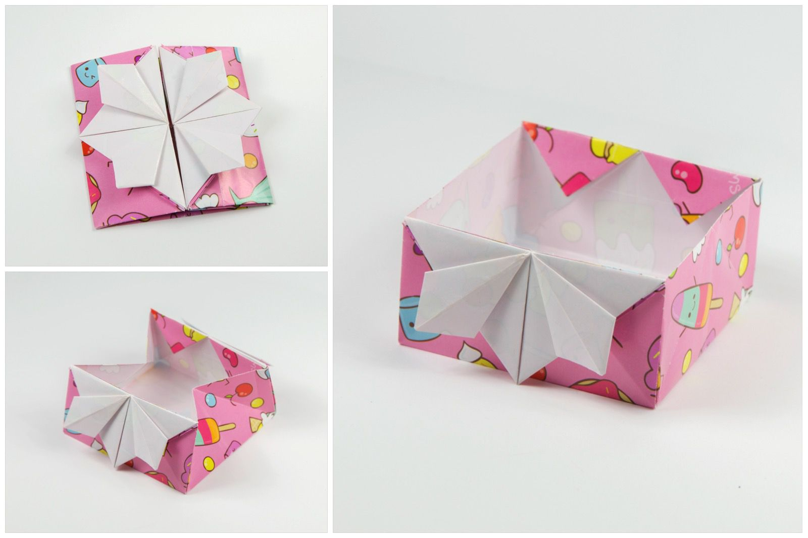 Japanese Origami Invitation Box
