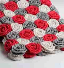roses crochet blanket [ 2000 x 1333 Pixel ]