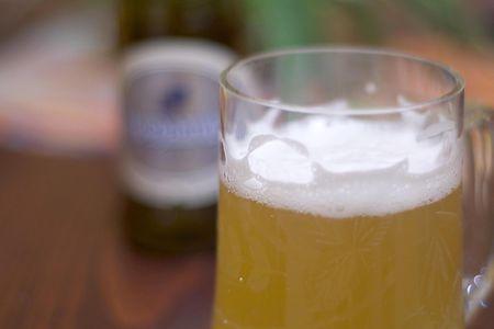 hoegaarden white beer tasting