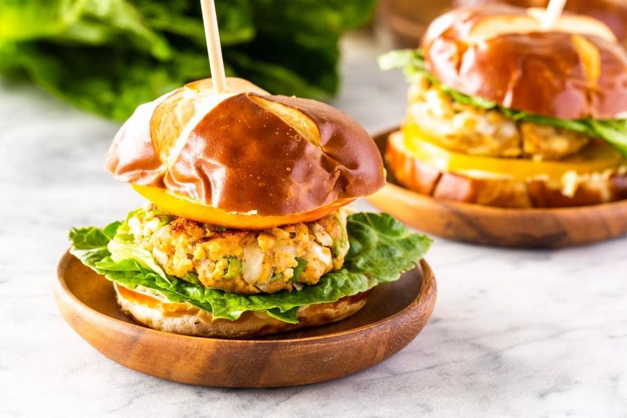 Vegan Tofu Veggie Burgers