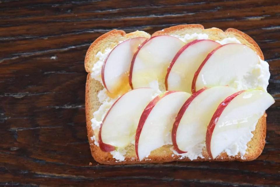 Honey Apple Toast Recipe