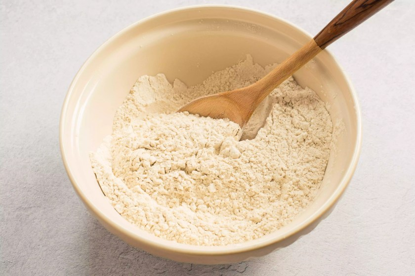Combine flour and salt