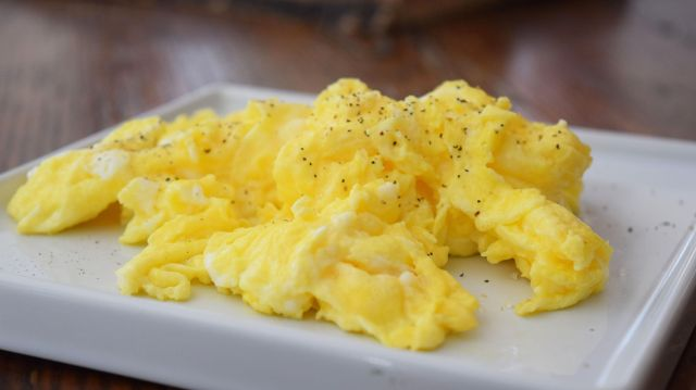 Perfect Buttery Scrambled Eggs