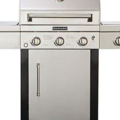 Kitchen Aid Bbq Sink Grid Learn About The Big And Shiny Kitchenaid 5 Burner Gas Grill Pros Cons Of 3